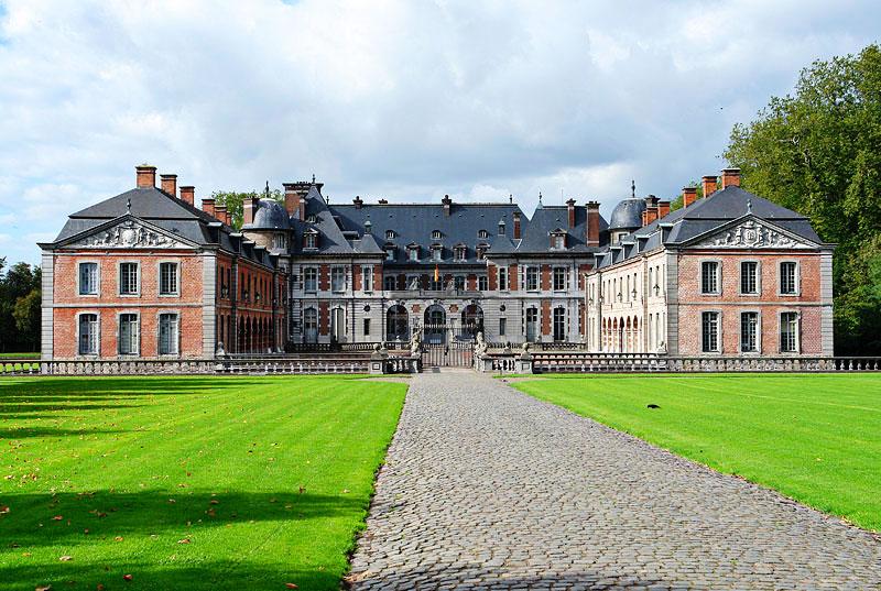Замок Белёй (Chateau de Beloeil)