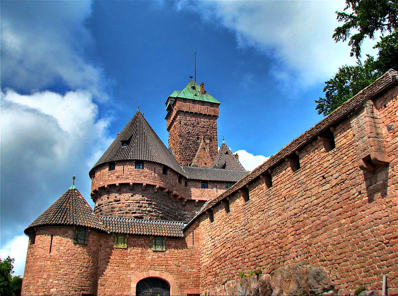 Замок Кенигсбур / Château du Haut-Koenigsbourg