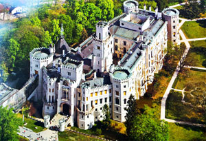 Замок Глубока над Влтавой (Zamek Hluboka nad Vltavou)