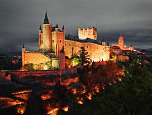 ������ �������� � ������� (Alcazar de Segovia)