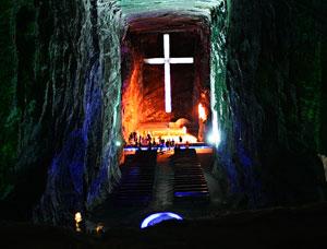 Соляной собор Сипакира (Catedral de Zipaquira)